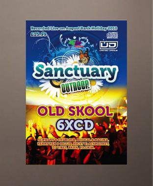 Sanctuary 2010  - Old Skool 6 CD Pack